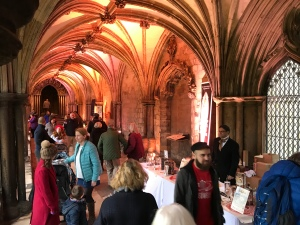 The crowds of people and the stunning Cathedral architecture