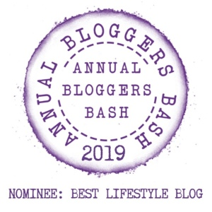 Bloggers bash logo with the title 'Best Lifestyle Blog'