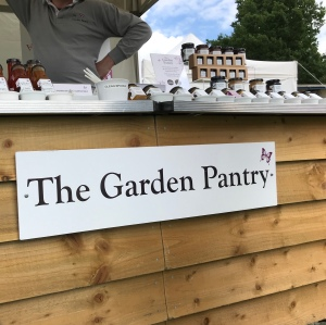 A stall called The Garden Party selling chutneys and pickles